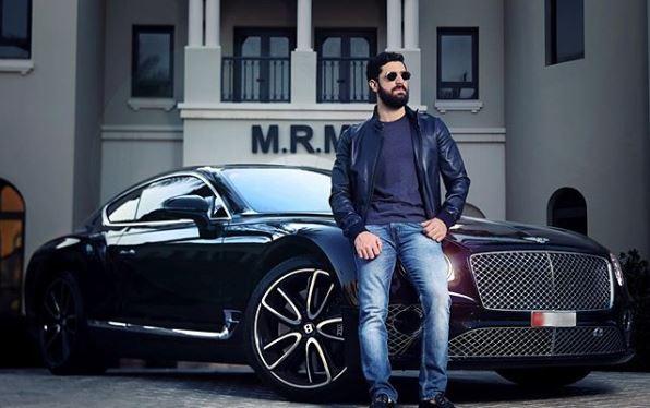 """صورة نجل """"رامي مخلوف"""" يستعرض أسطول سياراته الفارهة في دبي- شاهد"""
