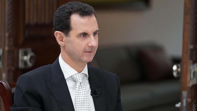 صورة وزير خارجية سلطنة عُمان يزور بشار الأسد
