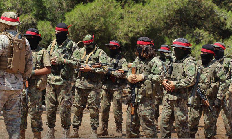 صورة العصائب الحمراء يدخلون معركة حماة.. فمن هم؟