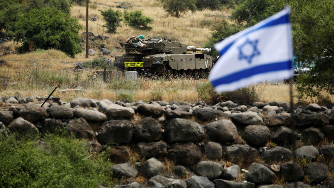 صورة تحرك إسرائيلي ثلاثي الأبعاد في سوريا