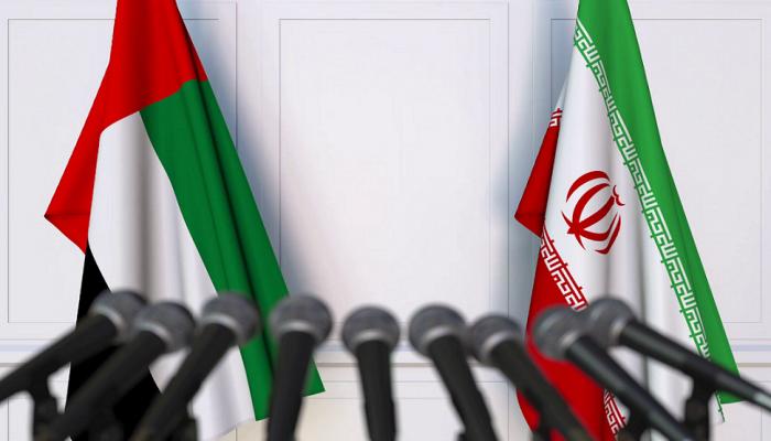 صورة وفد عسكري إماراتي في إيران.. ماذا يفعل؟