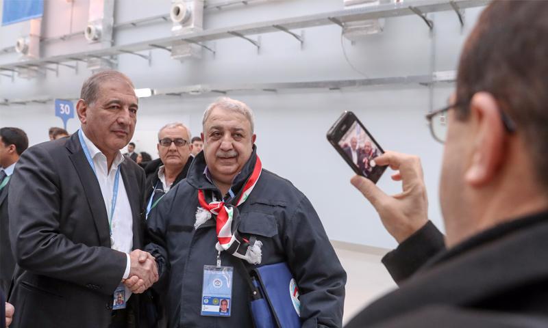 """صورة """"إصابته حرجة"""".. محاولة اغتيال معراج أورال في ريف اللاذقية"""