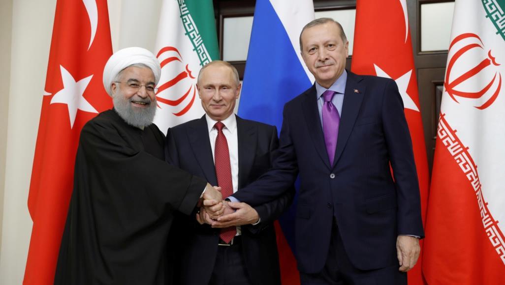 صورة قمة ثلاثية في تركيا..وسورية أهم عناوينها