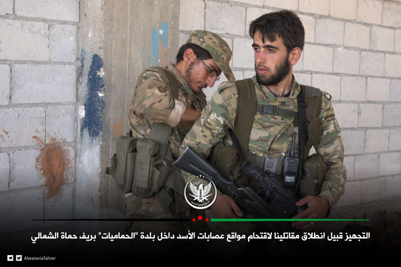 """صورة """"الحر"""" يكبد الأسد وميليشيات روسيا خسائر فادحة"""