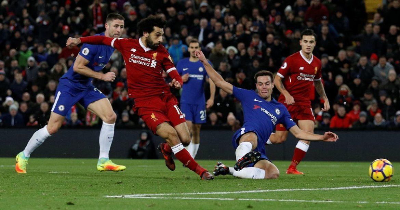 صورة ليفربول يحسم كلاسيكو إنكلترا في مباراة نـ.ـارية أمام تشيلسي