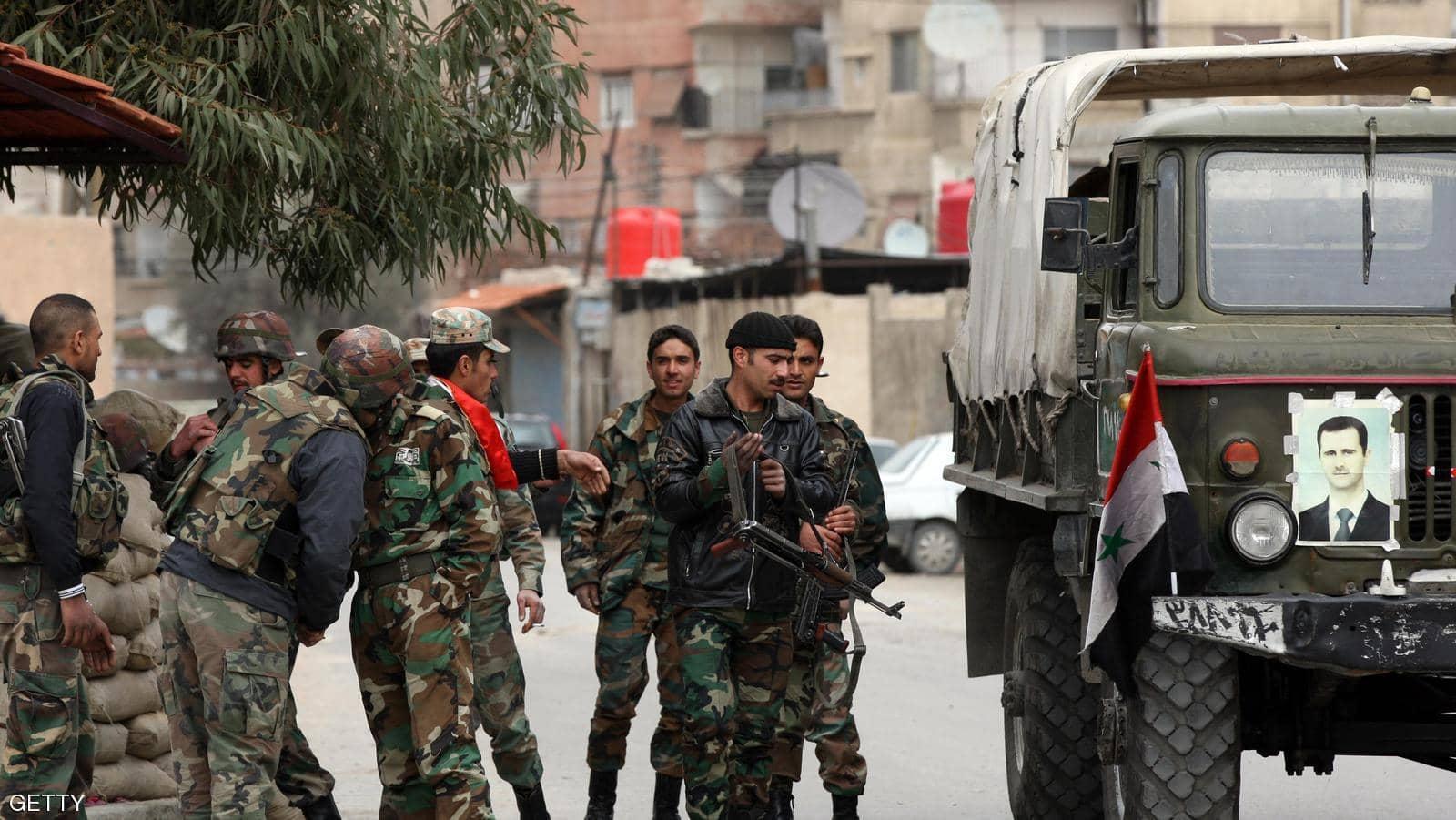 صورة عقب تدمير منازل حلب .. هذا ما يفعله النظام في ممتلكات أهالي حرستا