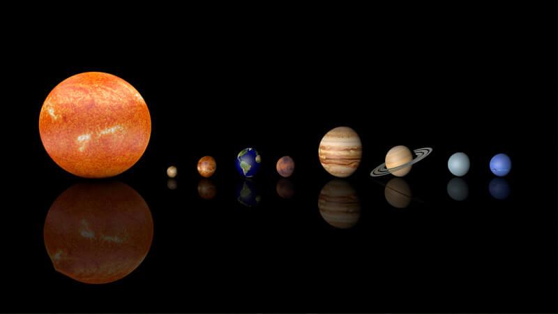 """صورة """"زائر تاريخي"""" للمجموعة الشمسية"""