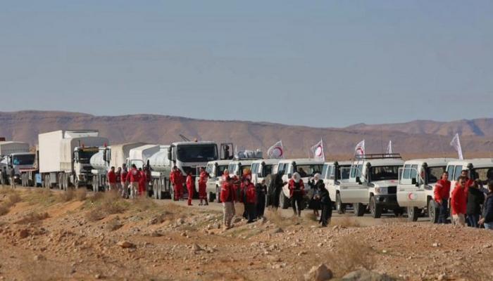 صورة مجلس مخيم الركبان المحلي يمنع دخول مساعدات الأمم المتحدة والسبب ..!؟