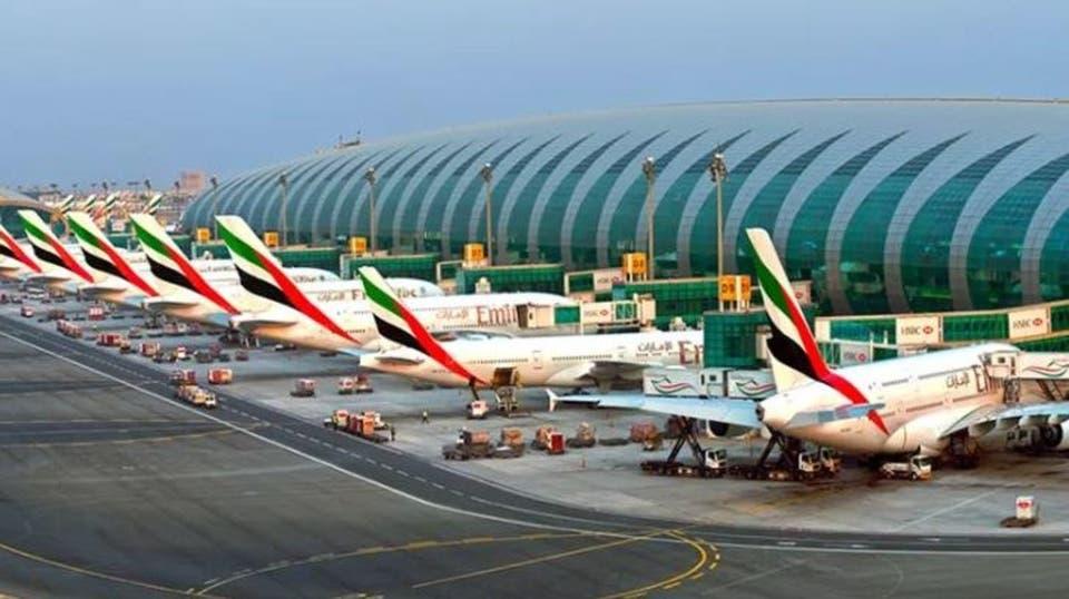 صورة الطائرات المسيرة تصل الإمارات.. وتعـ.ـطل مطار دبي
