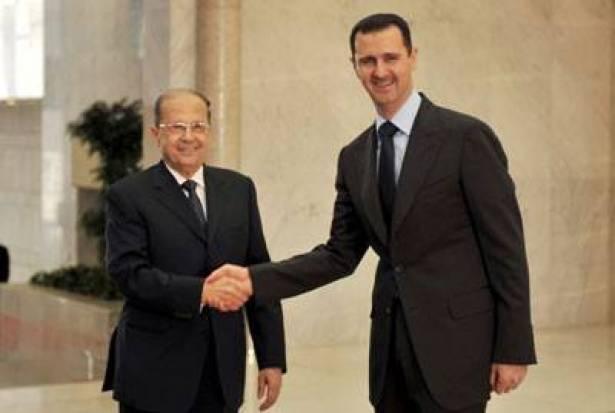 """صورة عون سيزور سوريا والمهمة """"إعادة اللاجئين"""""""