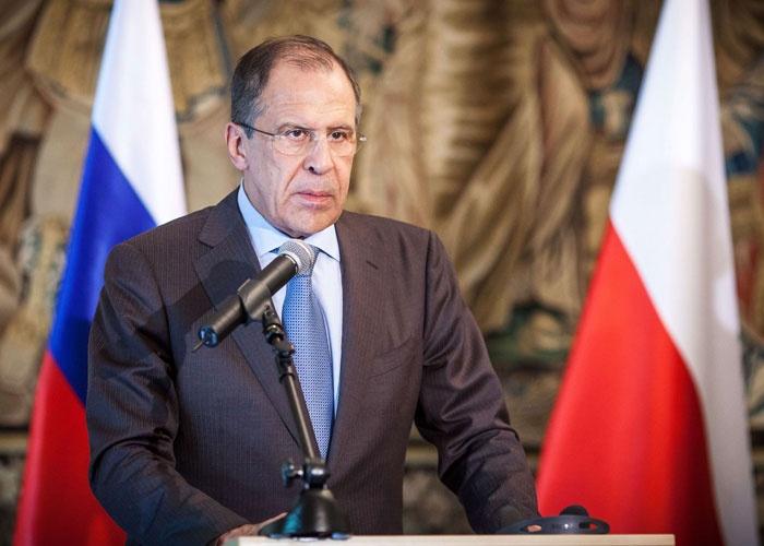 صورة وزير الخارجية الروسي يعلن انتهاء في الحرب سوريا