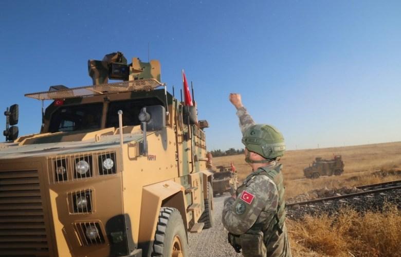 صورة شرق الفرات.. ثاني دورية تركية أمريكية مشتركة في المنطقة الآمنة