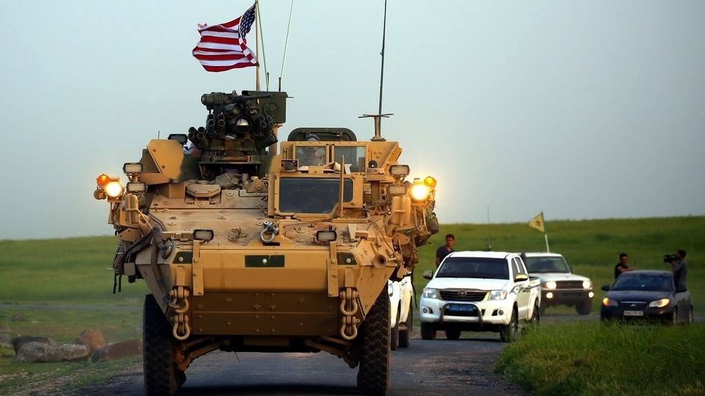صورة تحرك أمريكي ضد تركيا في سورية