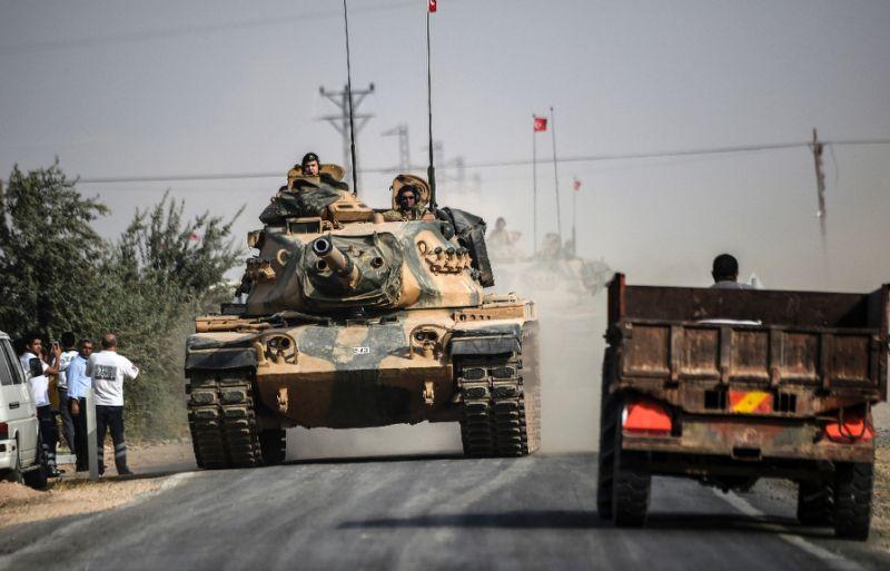 صورة هجوم إيراني على الجيش التركي يوقع قتلى وجرحى