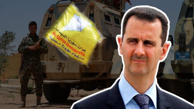 """صورة الجيش التركي يدخل """"رأس العين"""".. والأسد يرفض مصالحة """"قسد"""""""