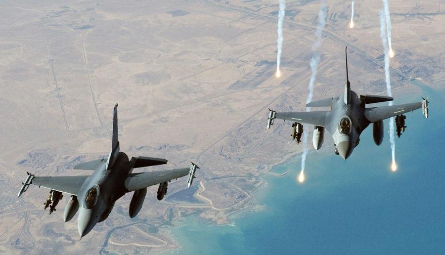 صورة مرتزقة روس يقاتلون في ليبيا! وغارة جوية تقتل العشرات منهم