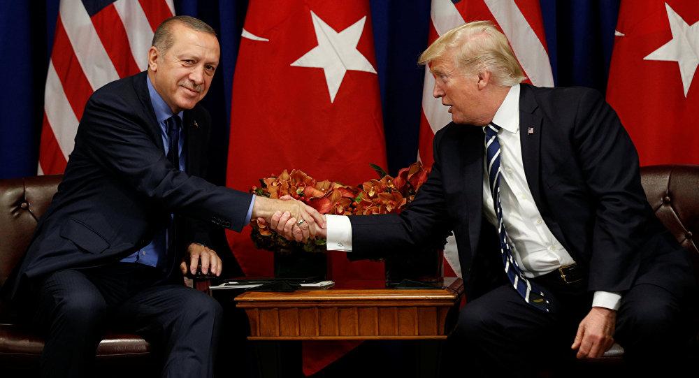 صورة أسرار المكالمة الهاتفية بين أردوغان وترامب