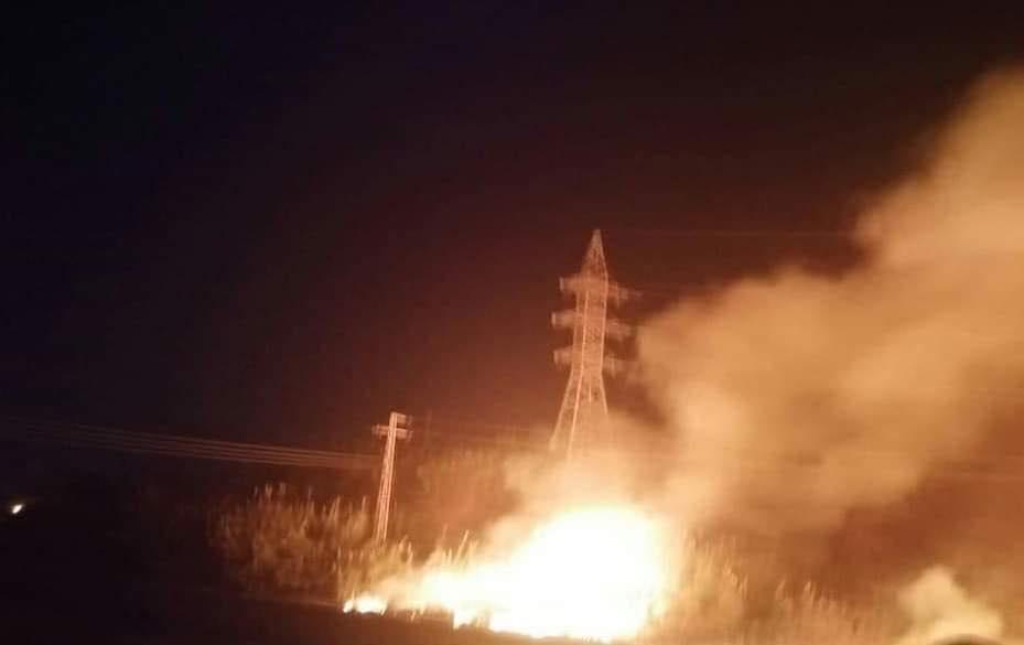صورة حـ.ـريق كبير في مدينة ايرانية