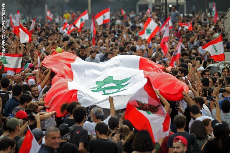 صورة احتجاجات لبنان و3 خيارات.. أبرزها انتخابات مبكرة!