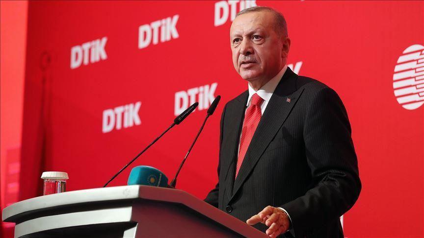 صورة أردوغان للجامعة العربية: موقفكم من نبع السلام مردود عليكم!