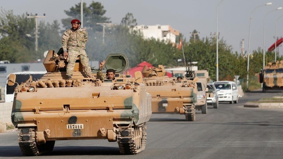 """صورة النظام يتحرك عسكرياً لاستلام مواقع """"قسد"""" في عين العرب"""