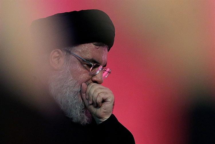 صورة نصر الله يهاجم الثورة اللبنانية.. ويوزع شهادات وطنية!