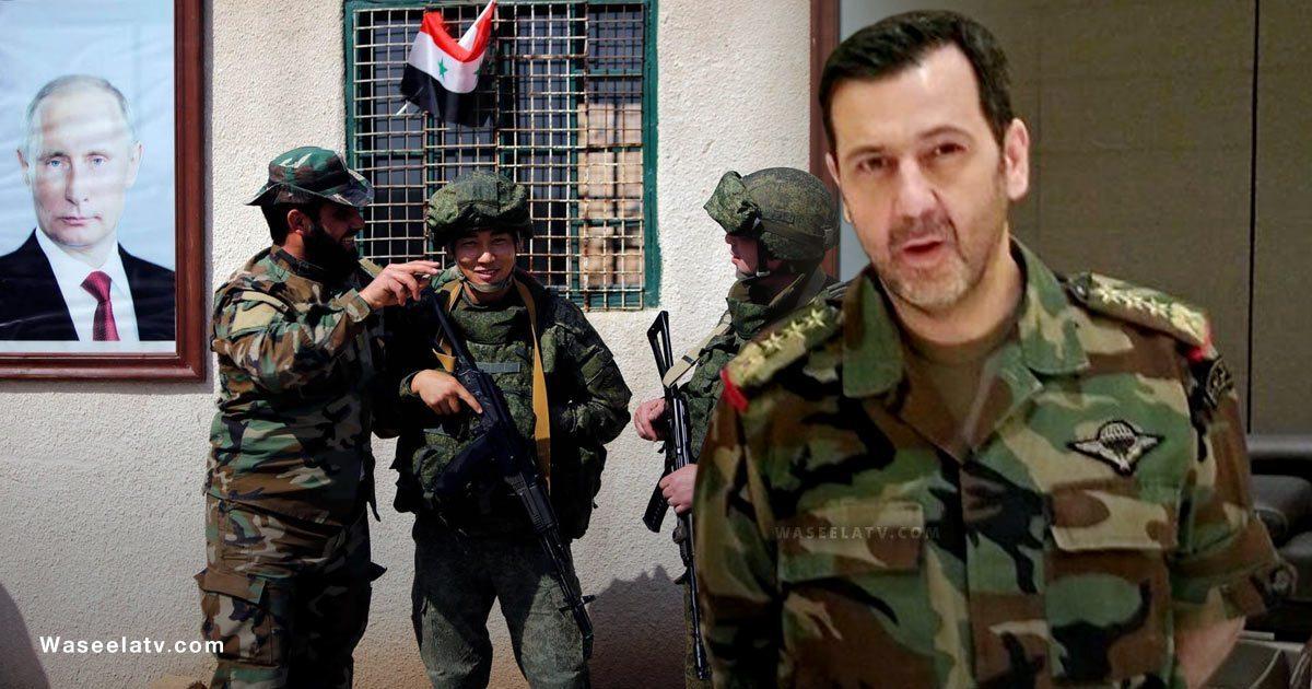 صورة ماهر الأسد يحاصـ.ـر ريف دمشق ويتوعـ.ـد المدنيين