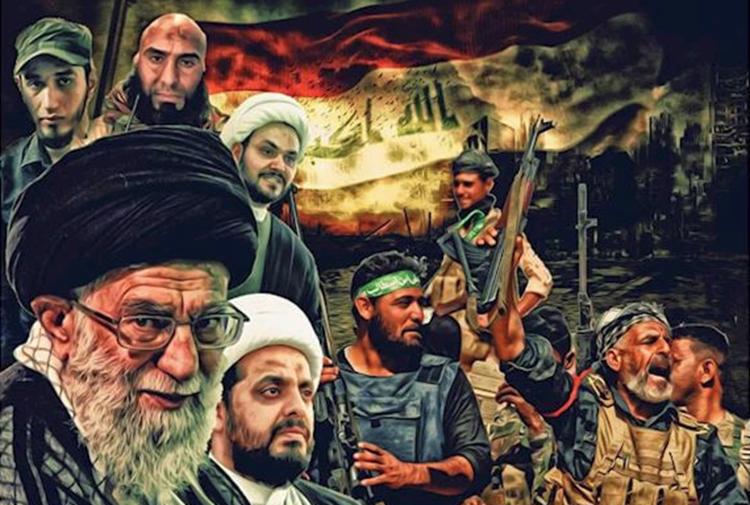 صورة بقيادة سليماني.. انقلاب عسكري ضد متظاهري العراق