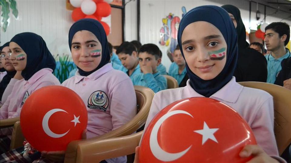 صورة الرئيس التركي يخاطب السوريين.. ماذا قال لهم؟
