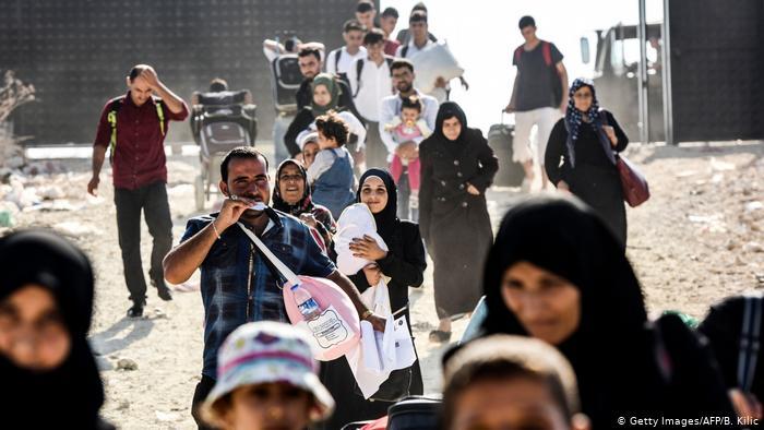 صورة أردوغان: أنفقنا 40 مليار دولار على اللاجئين السوريين