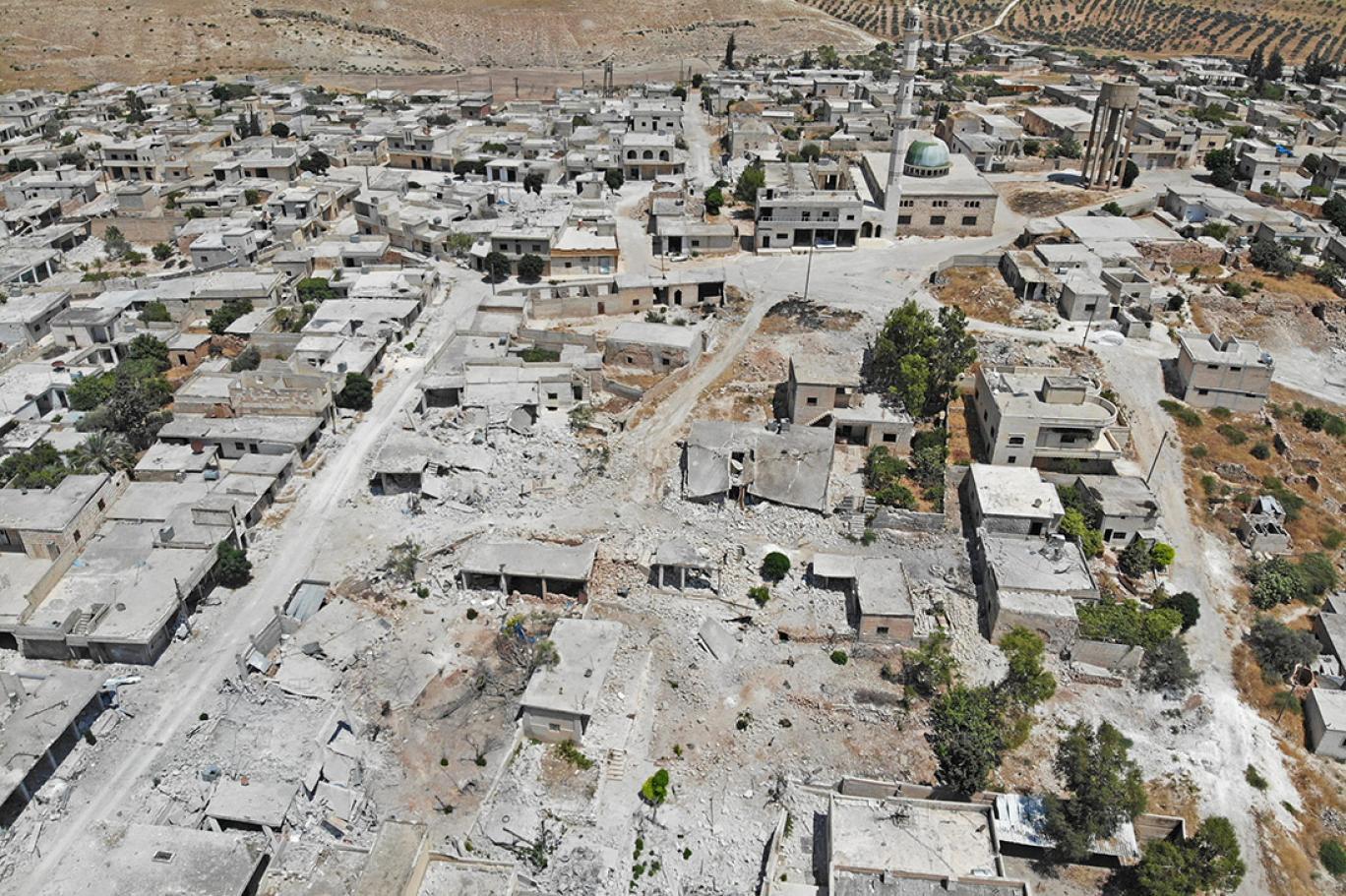 صورة بلدات إدلب تتساقط بالتتابع.. والجيش التركي محاصر!