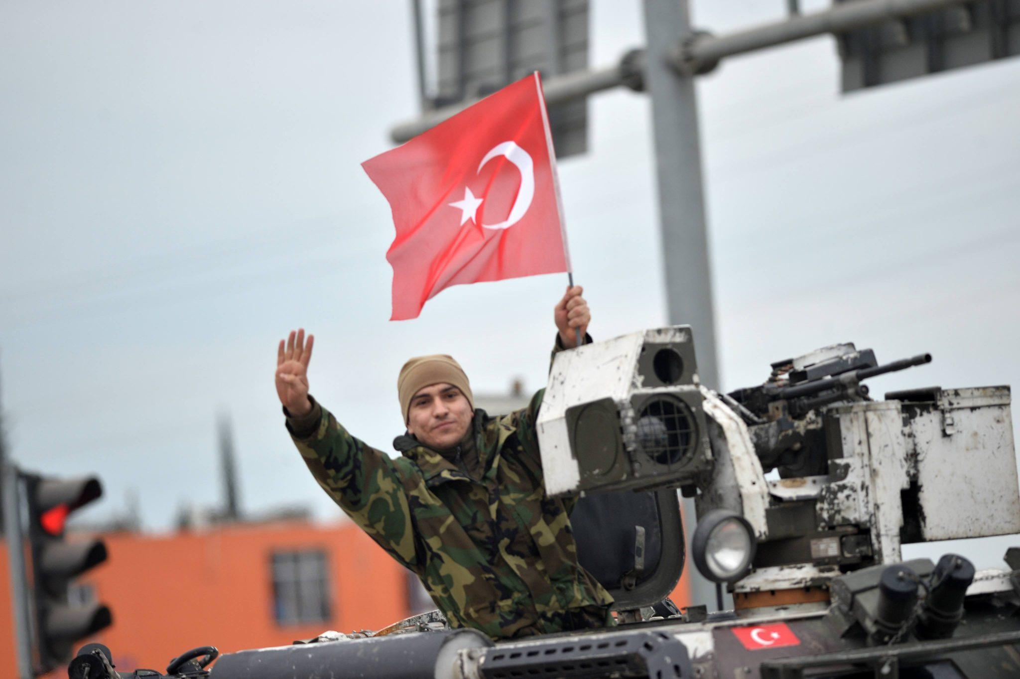صورة تركيا: أي يد ستمتد نحو نقاط المراقبة في إدلب سنقطعها