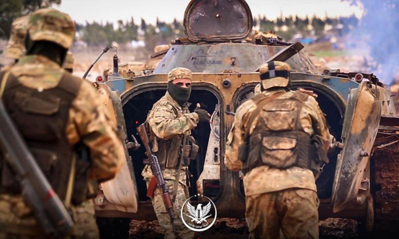 """صورة في إدلب.. """"الحر"""" قادر على لجم الأسد لكنه لم يفعلها!.. لماذا؟"""