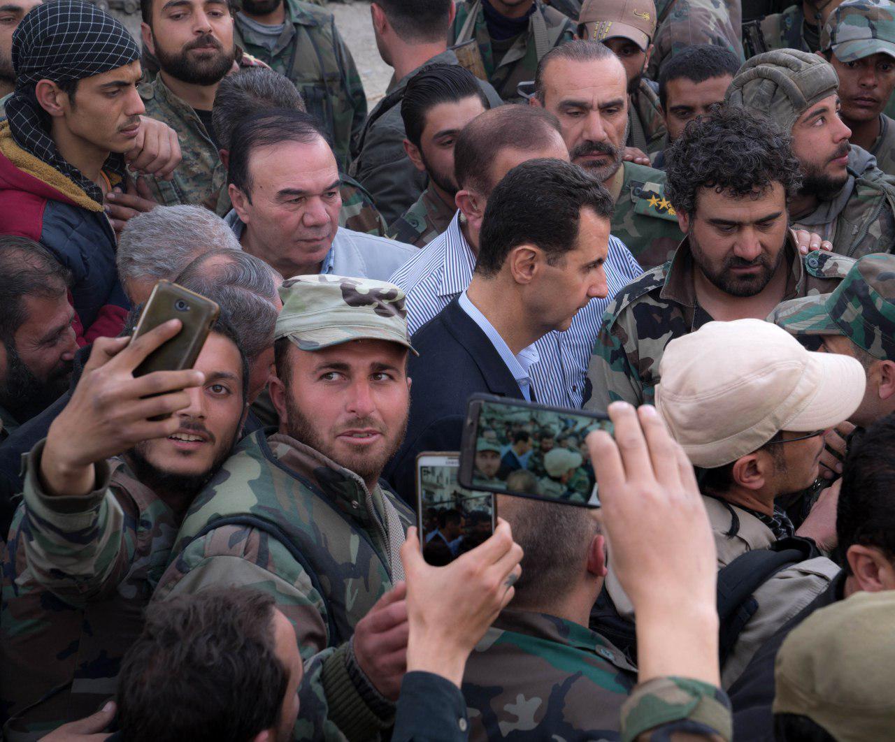صورة تركيا تتحدى بشار الأسد عسكرياً
