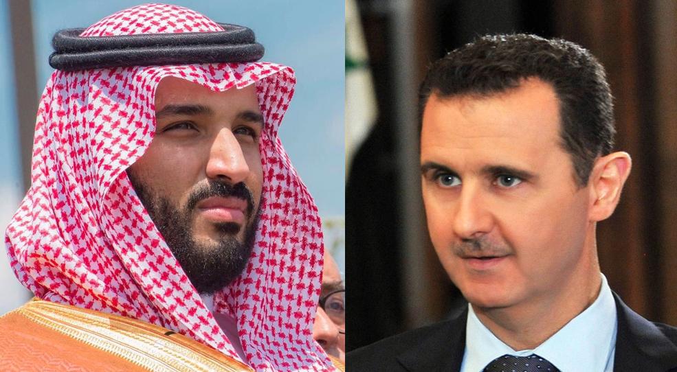 صورة لأول مرة.. اجتماع بين الأسد والسعودية (تفاصيل)