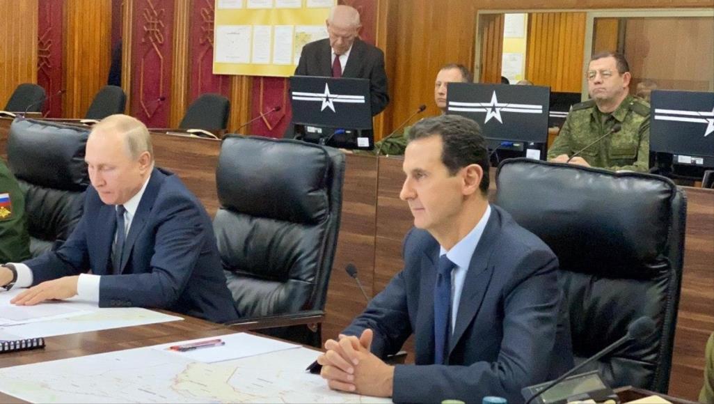 صورة مخابرات بشار تشتم بوتين.. وموسكو تتوعدهم برأس الأسد!