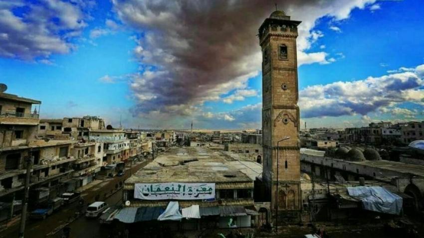صورة عاجل: ثوار معرة النعمان يقولون كلمتهم.. الأرض لنا
