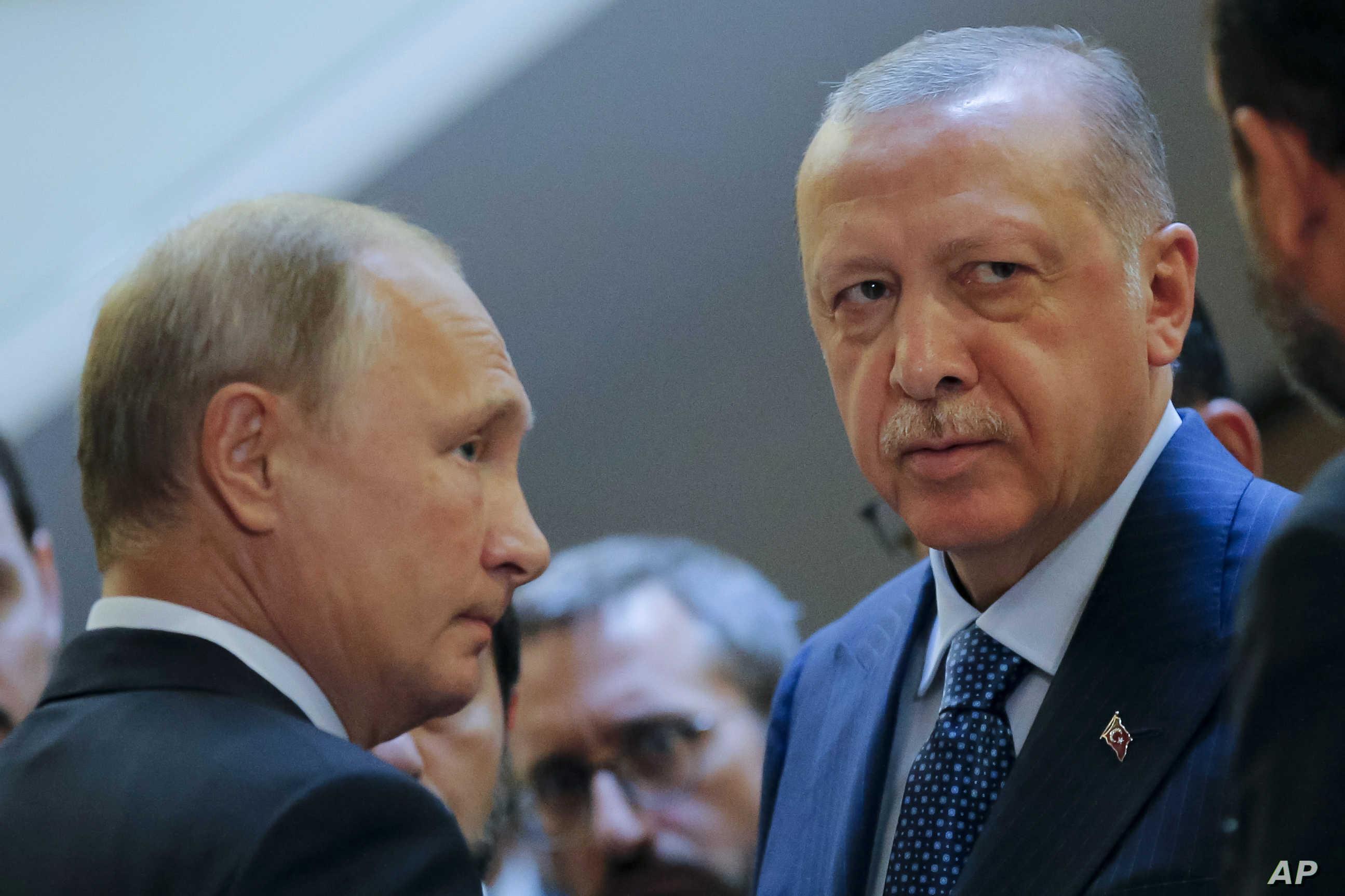 صورة مصير سورية من مصير ليبيا.. ماذا يريد بوتين من أردوغان؟