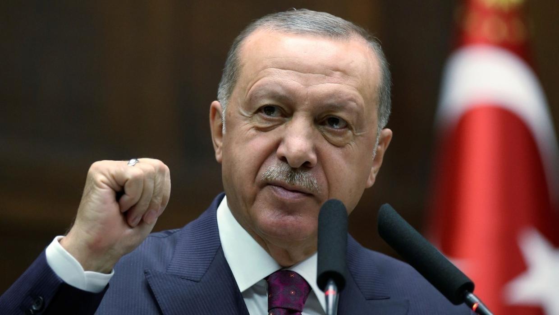 """صورة رسالة نارية من أردوغان لـ """"حفتر"""""""