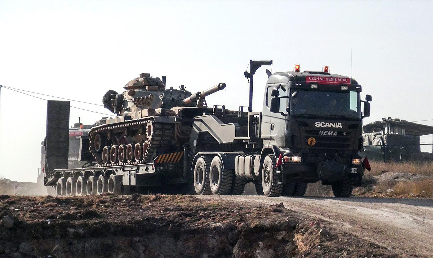 """صورة الجيـ ـش التركي: سنـ ـوجه للأسد """"ضـ ـربات موجـ ـعة"""""""