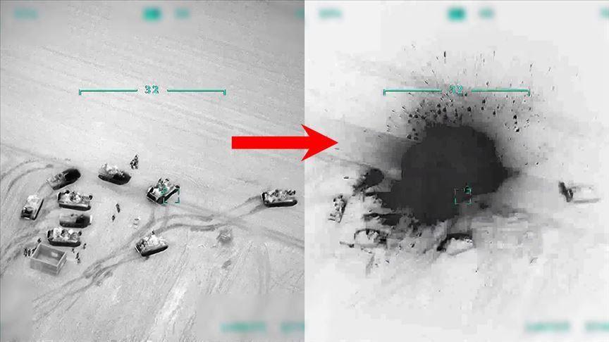 صورة كالعـ ـصافير.. شـ ـاهد كيف اصـ ـطاد الجـ ـيش التركي قـ ـوات الأسد