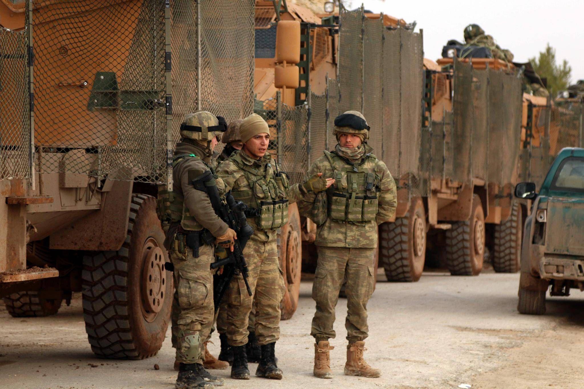 صورة لأول مرة: إيران تهاجم الجيش التركي بالرشاشات الثقيلة- تفاصيل