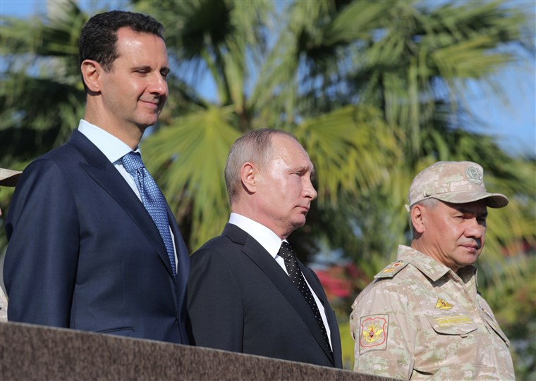 صورة بعد صفعه.. روسيا تركل الأسد مجدداً