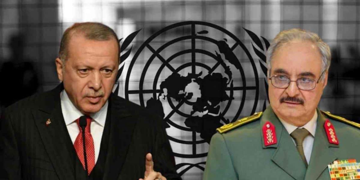 صورة رسالة نارية من أردوغان لحفتر.. ووعيد أشد