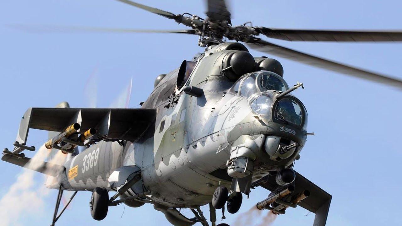 صورة المروحيات الروسية تتساقط في ليبيا
