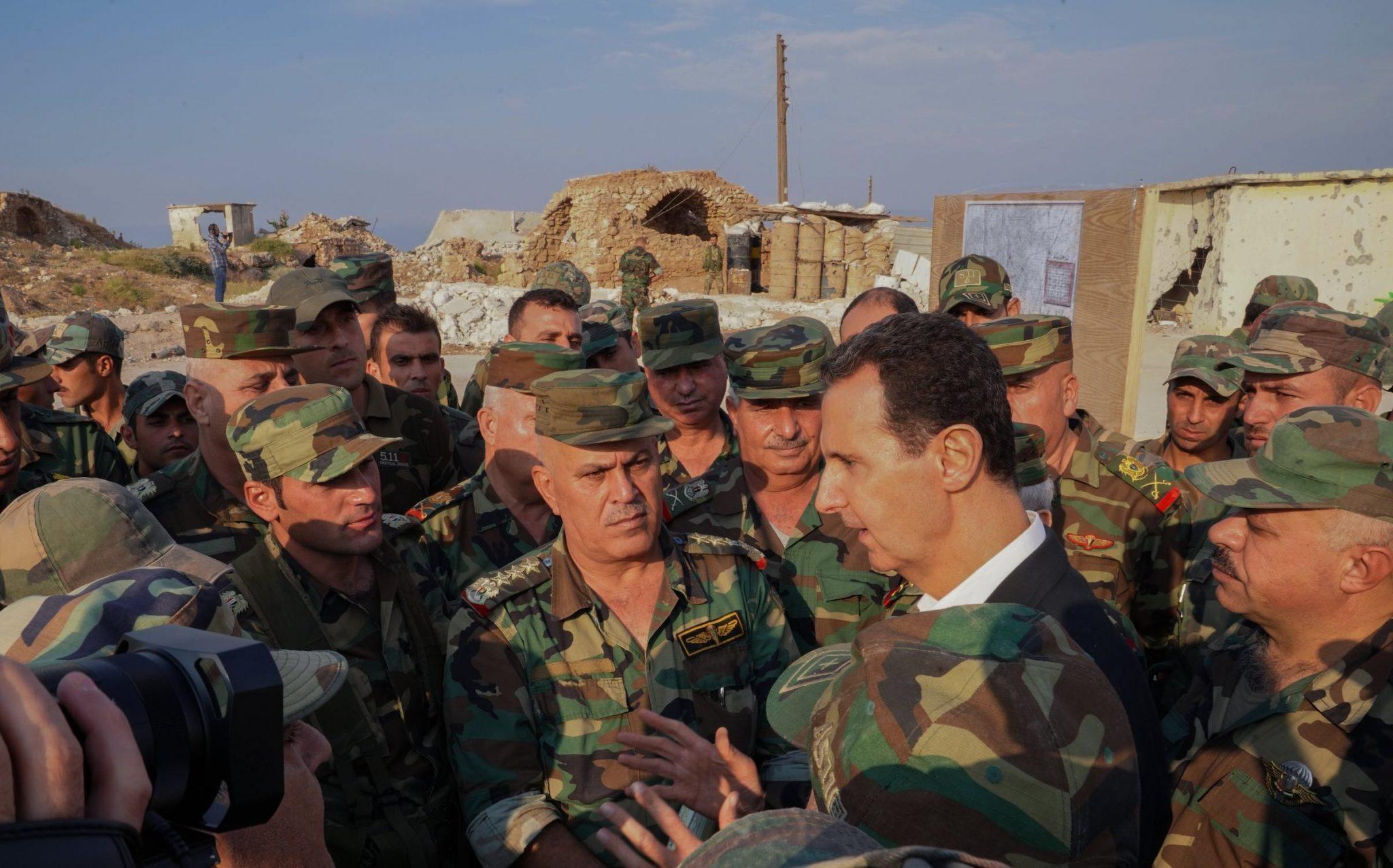 صورة بن زايد يرشي الأسد بـ 3 مليارات دولار.. ما المقابل؟