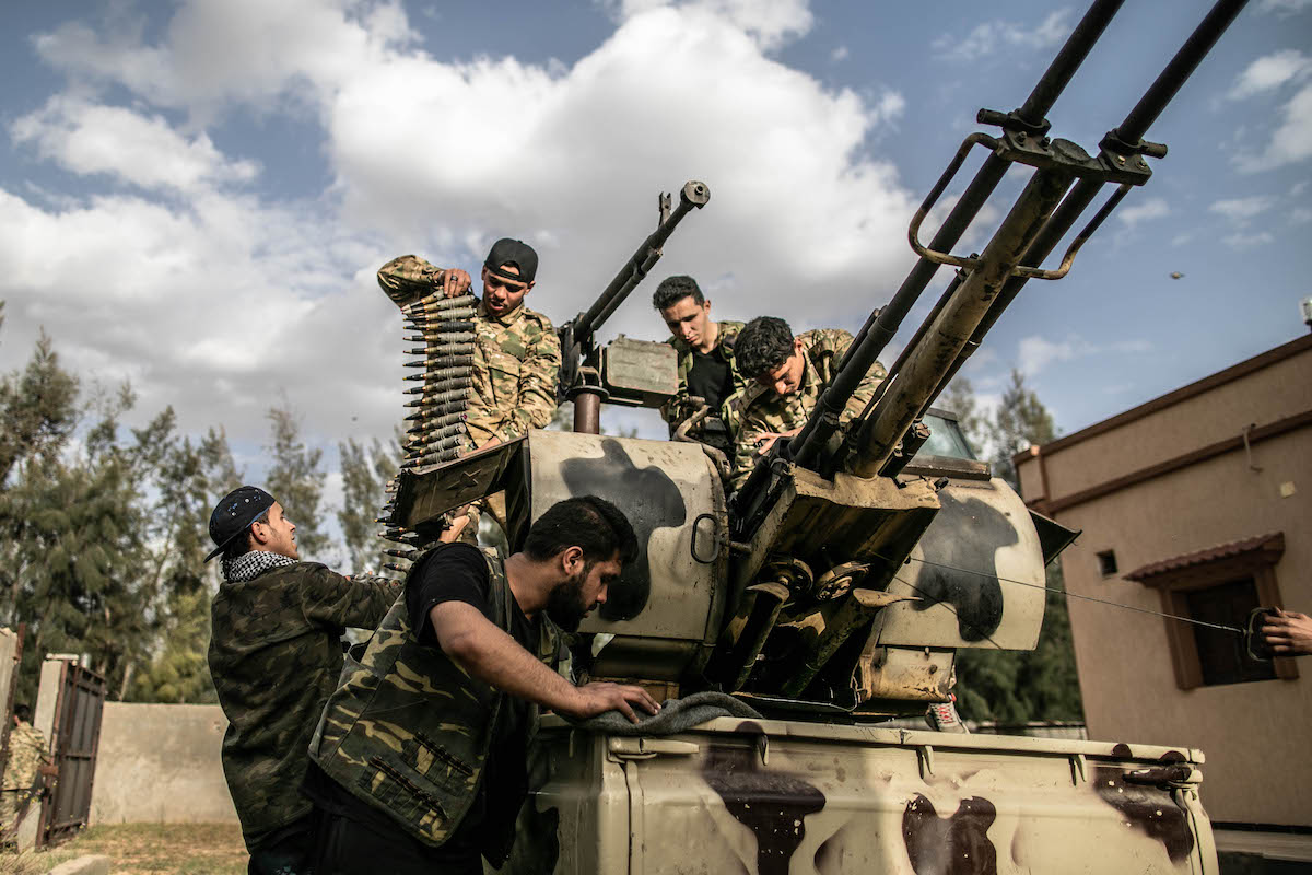 صورة طرابلس الليبية تلقن بشار الأسد ومرتزقته درسا قاسيا- تفاصيل هامة