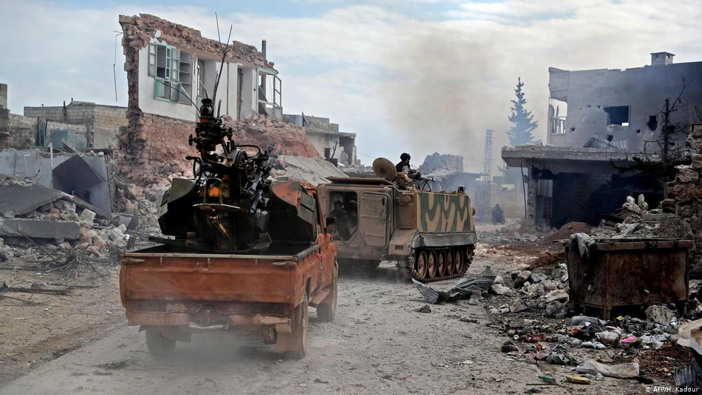 صورة الانهيار يهدد اتفاق بوتين- أردوغان.. طبول الحرب تُقرع مجددا