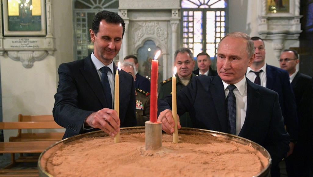 صورة بوتين والأسد.. جاء وقت الحصاد