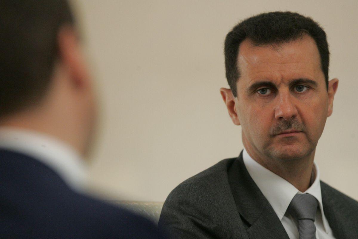صورة إسرائيل تودع بشار الأسد